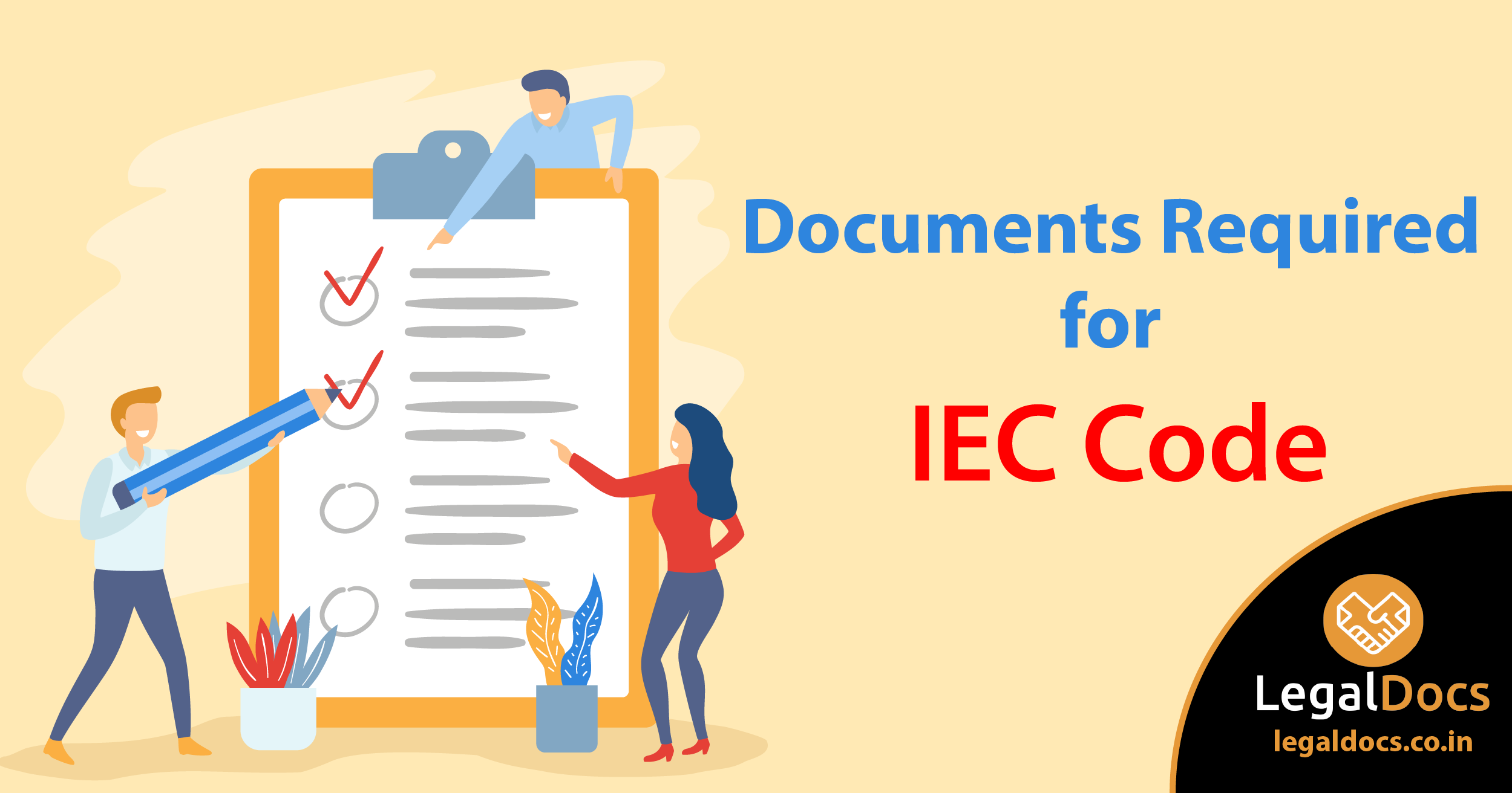 Documents Required for IEC Code Registration - LegalDocs