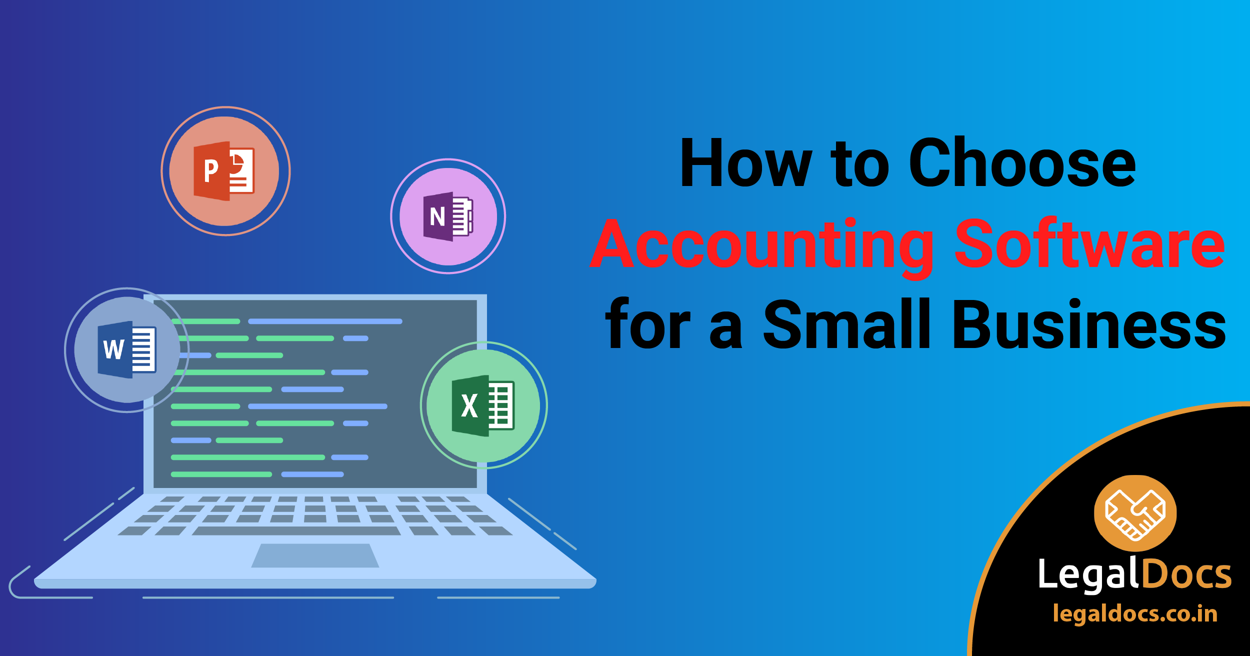 How to Choose Accounting Software for a Small Business? - LegalDocs