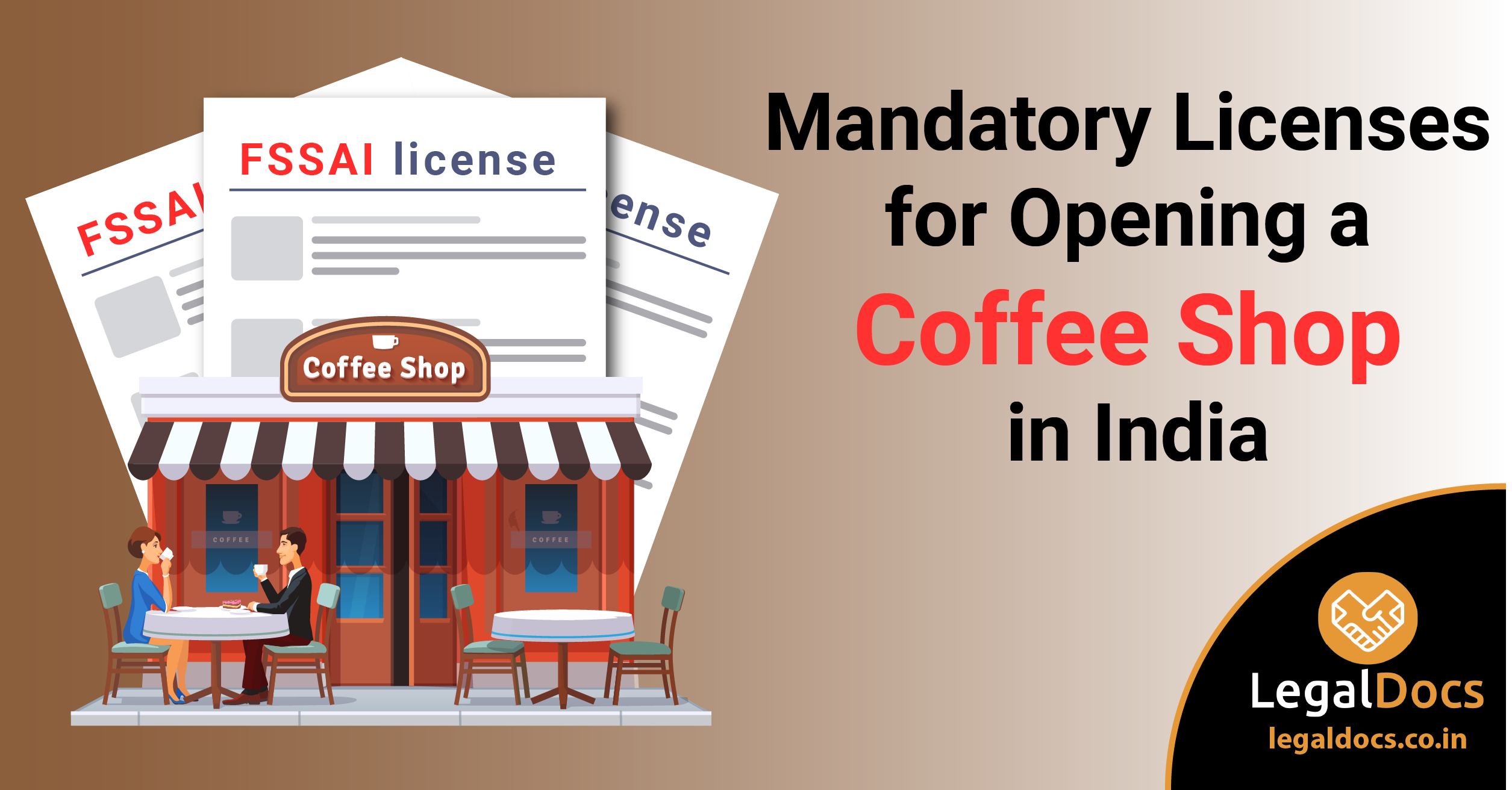 Mandatory Licenses for Opening a Coffee Shop in India - LegalDocs