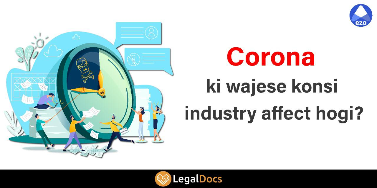 Industries Going to be Affected by COVID-19- LegalDocs