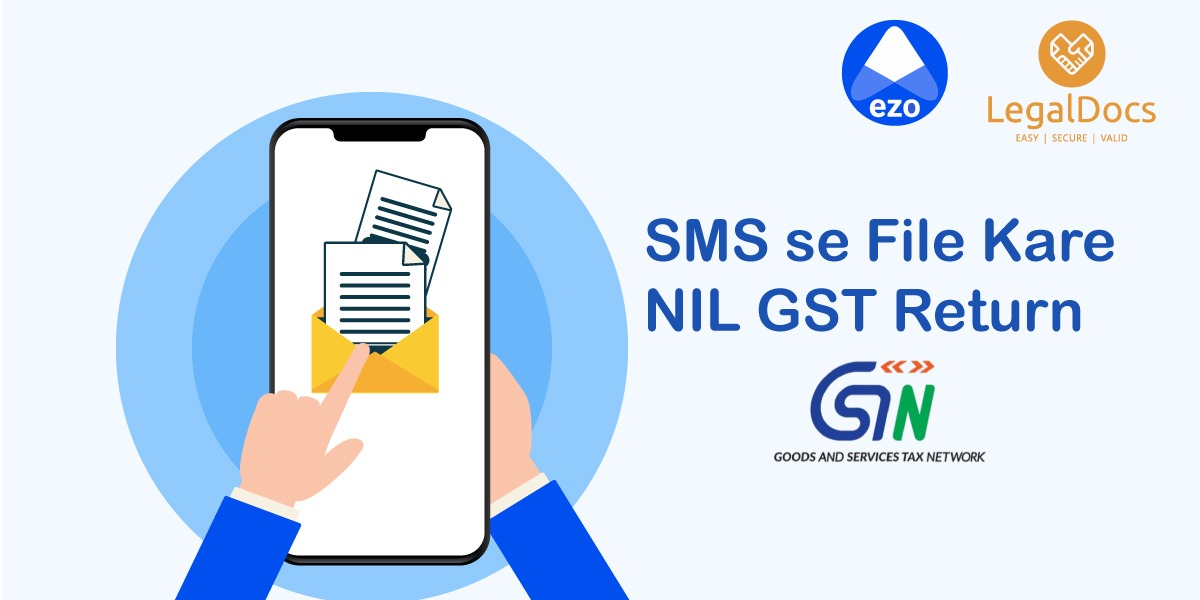How to File GST Return by SMS - Proceedure - LegalDocs