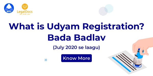 What is Udyam Registration - LegalDocs