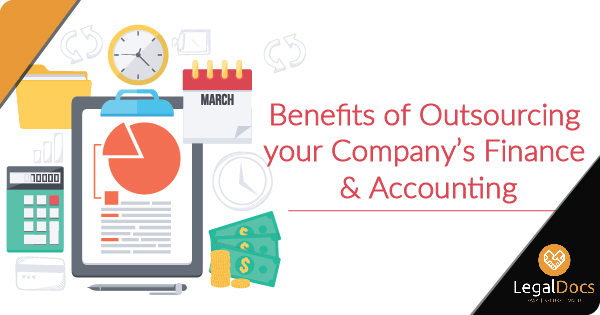 Top 6 Benefits of Outsourcing Finance and Accounting Services