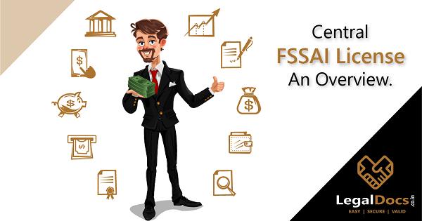 Central FSSAI License Registration