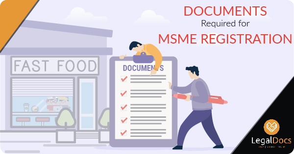 Documents Required for MSME Registration in India | LegalDocs