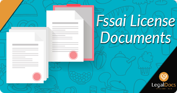 FSSAI License Documents