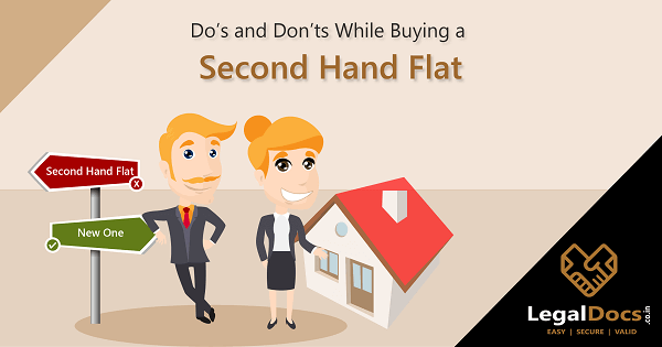 Dos and Donts While Buying a Second Hand Flat