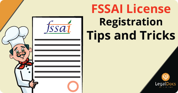FSSAI License Registration Tips and tricks