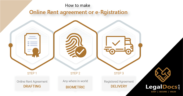 How to make online rent agreement or e Registration of leave and licence in Maharashtra?
