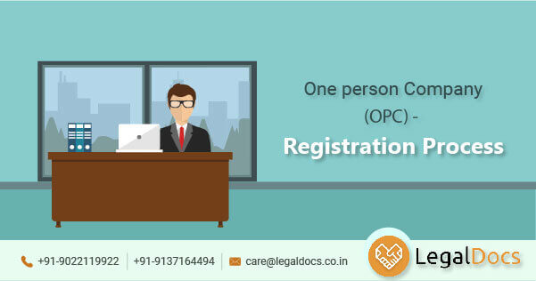One person Company(OPC) - Registration Process - LegalDocs