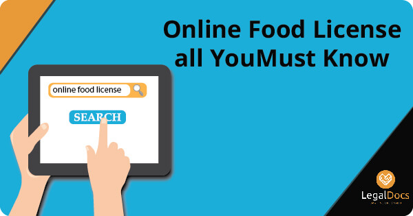 Online Food License All You Must Know