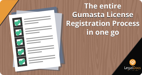 The entire Gumasta License Registration Process in one go